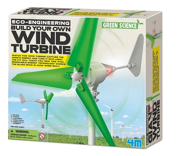 Kidzlabs windturbine bouwpakket