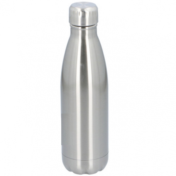 drinkfles 500 ml zilver