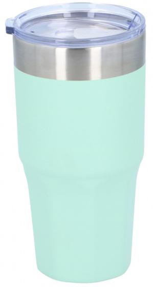 thermosbeker 500 ml polypropyleen/RVS mintgroen