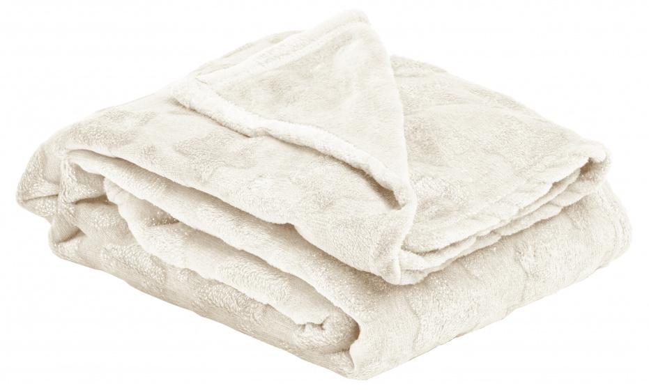deken Nutcracker 120 x 160 cm polyester wit