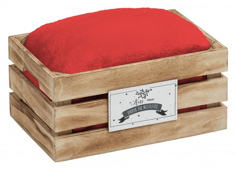 plaid Snowhite 120 x 160 cm polyester rood