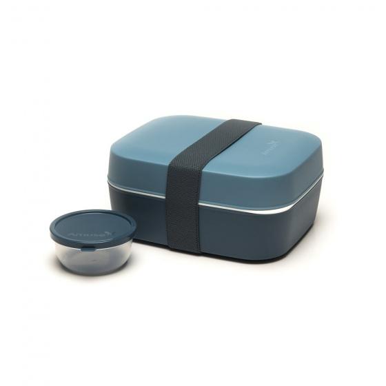 3-in-1 lunchbox polypropyleen grijs
