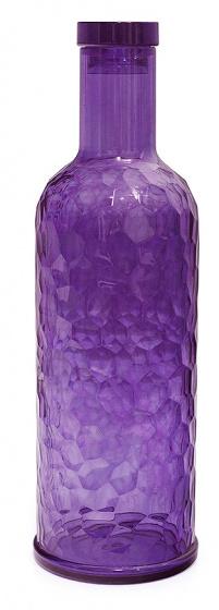 fles Provence 1 liter 28,7 cm acryl paars
