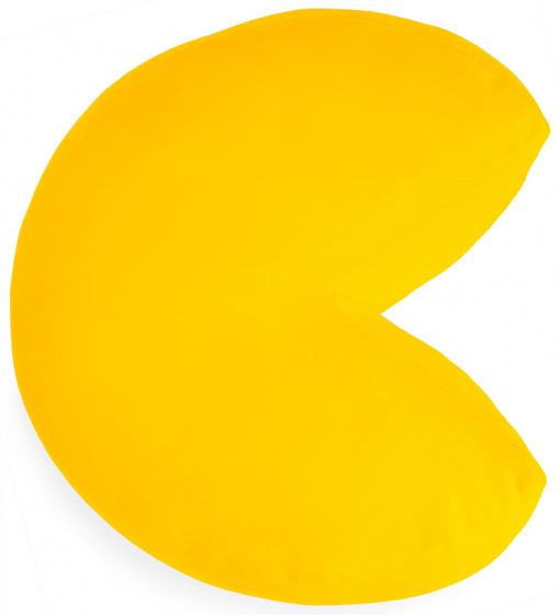 kussen Pac-Man 34,5 x 32 cm polyester geel
