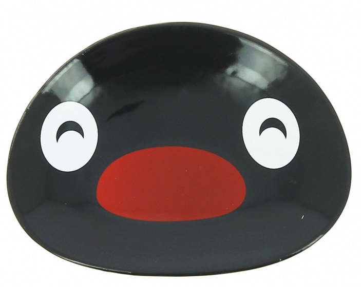 bord Pingu 11,5 x 8,5 x 2 cm zwart
