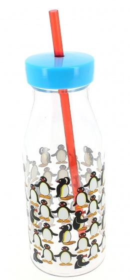 drinkbeker met rietje Pingu 500 ml