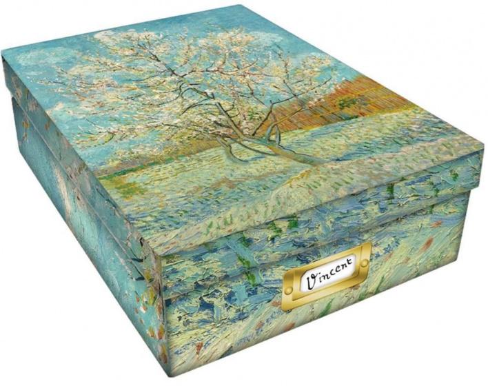 opbergbox Vincent van Gogh A4 karton