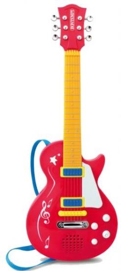 Elektrische Rock gitaar rood