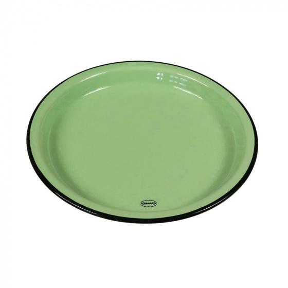 eetbord Medium 22 cm keramiek groen