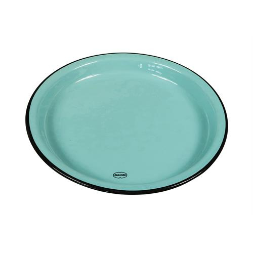 eetbord Medium 22 cm keramiek blauw