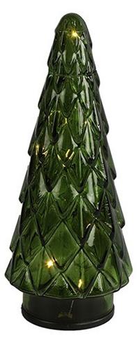 tafellamp Mosse led 24 cm glas groen