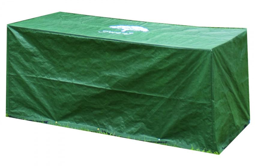 dekzeil loungestoel polyetheen 170 x 76 x 76 cm groen