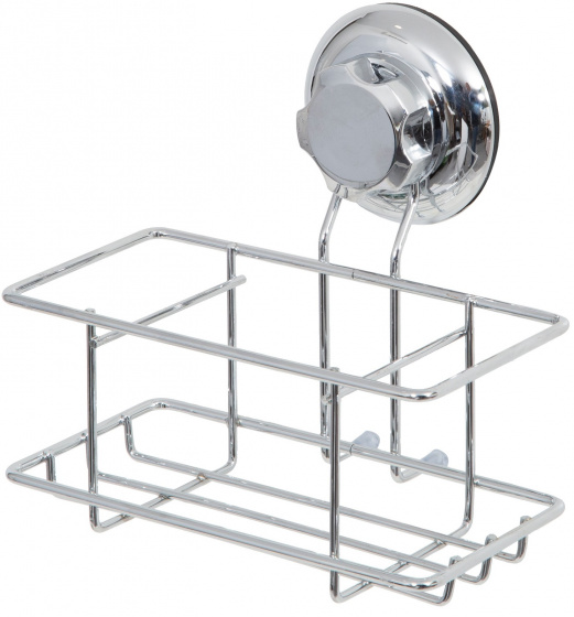 douche- en badrekje 16 cm staal zilver