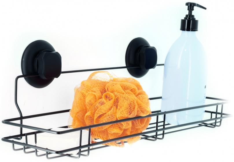 douche- en badrekje Bestlock 45,5 cm RVS zwart