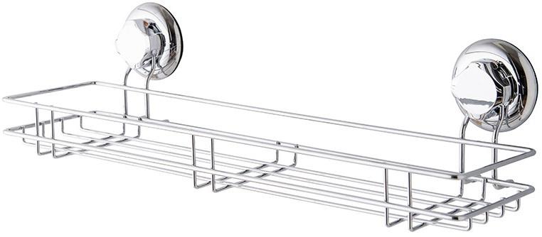 douche- en badrekje Bestlock 45,5 cm staal zilver