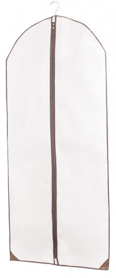kledinghoes lang wit/bruin
