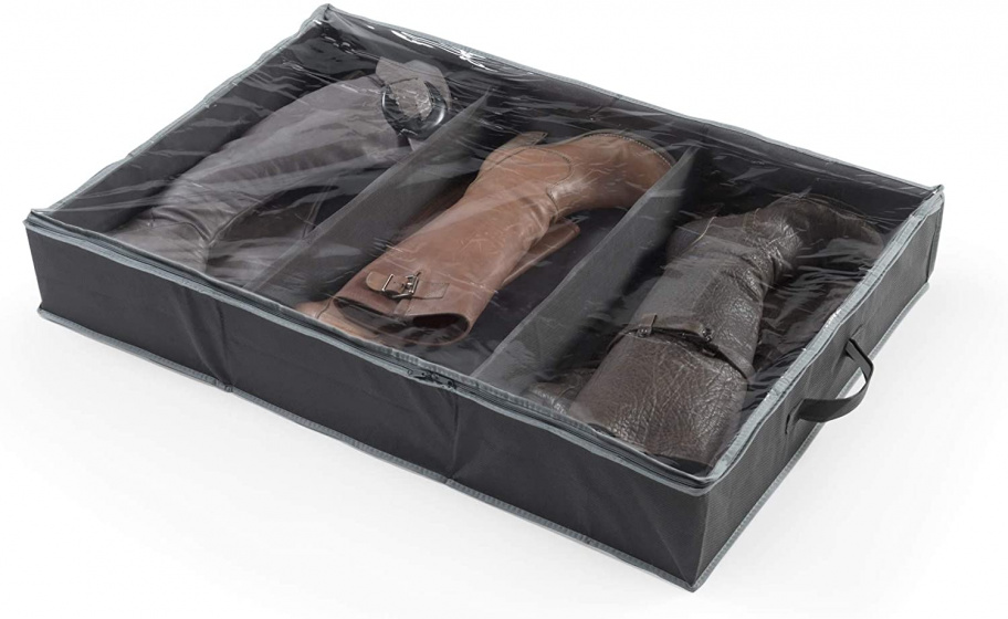 opbergtas voor laarzen 90 cm polypropyleen zwart