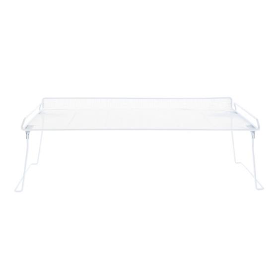 schap Xtend 68 x 28 cm staal wit