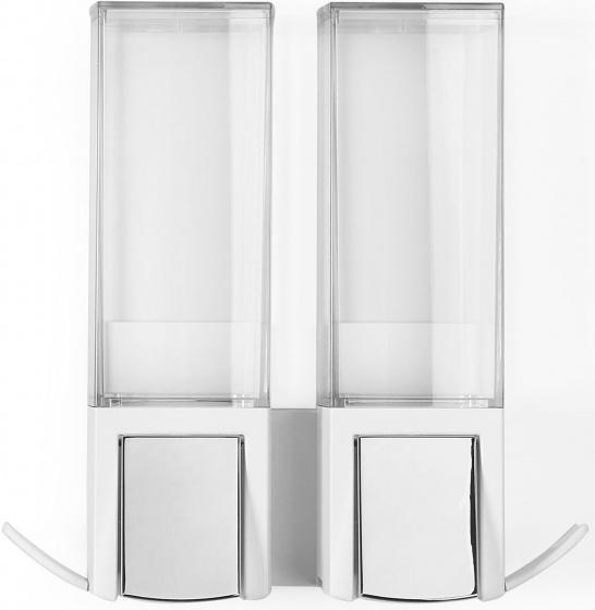 zeepdispenser Clever 620 ml 20,6 cm wit