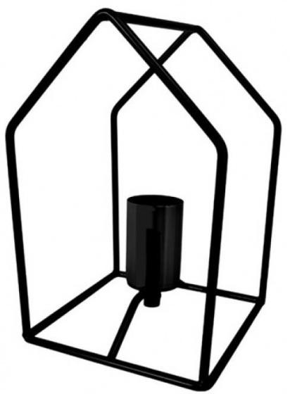 tafellamp 40W 23 cm staal zwart