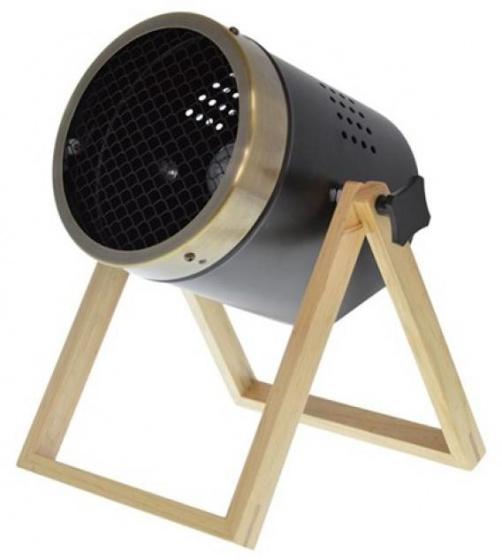 staande lamp mini-spot 40W 30 cm zwart/goud