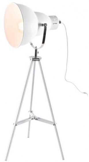 tafellamp Spot 26 x 65 cm staal wit