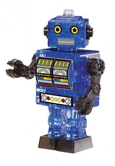 3D-puzzel Robot 84 cm blauw 39-delig