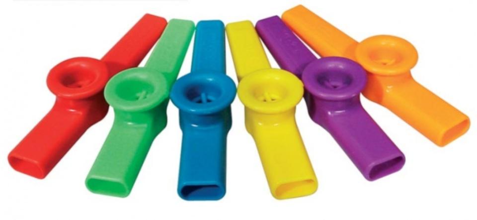 kazoo 12 stuks multicolor