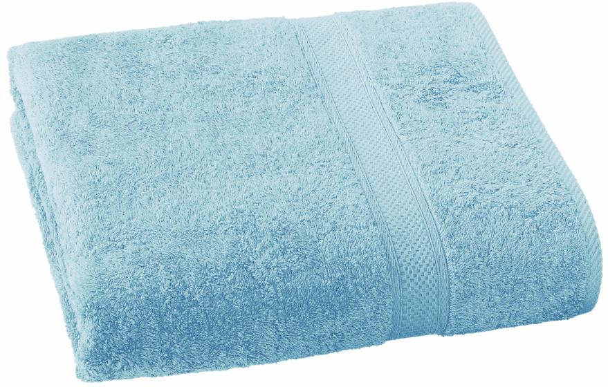 badhanddoek Stephanie 100 x 150 cm lichtblauw