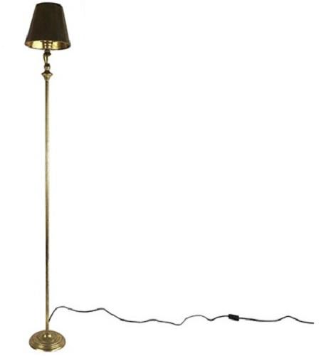 staande lamp Bronte 20 x 155,5 cm staal goud