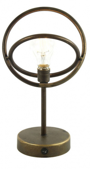 tafellamp Hessel 32 x 19 cm metaal brons