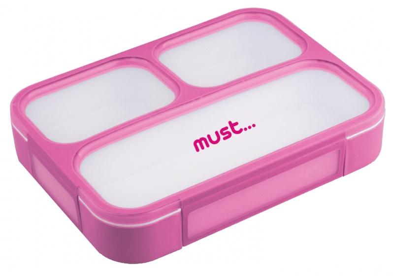 lunchbox Must 1 liter unisex 23 x 17 cm roze