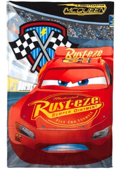 fleece-deken Cars 100 x 150 cm rood