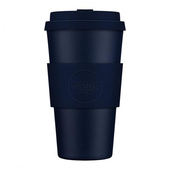 beker Dark Energy 470 ml bamboe/siliconen blauw