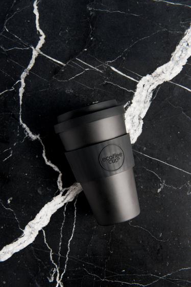 kerr en napier bamboe koffiebeker 470 ml zwart