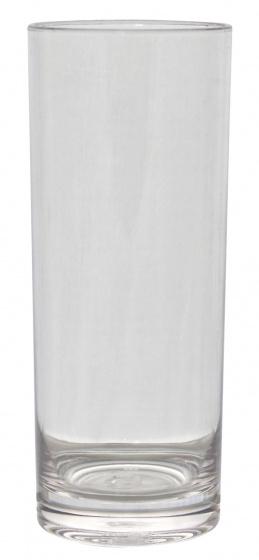 longdrinkglas 360 ml polycarbonaat transparant 2 stuks