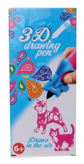 3D-tekenpen roze 14 x 5,5 x 3,5 cm