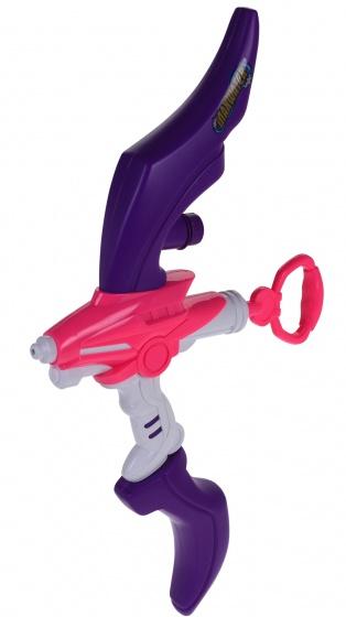 waterpistool boog 56 cm paars/roze
