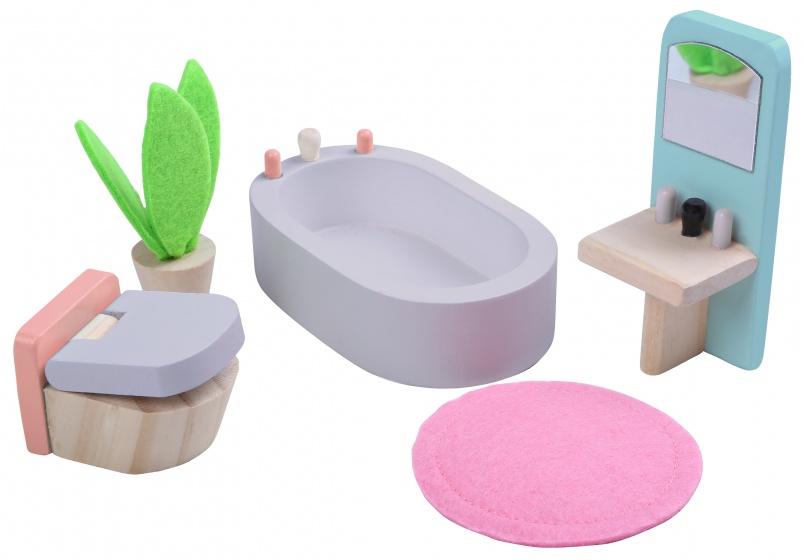badkamer hout 5-delig