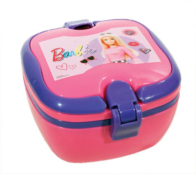lunchbox Barbie roze/paars