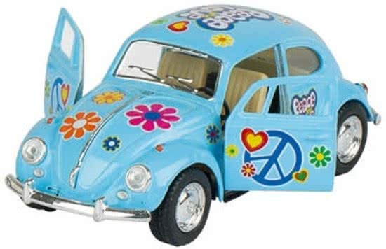 Volkswagen Classic Beetle (1967) 13 cm blauw