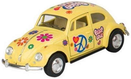 Volkswagen Classic Beetle (1967) 13 cm geel
