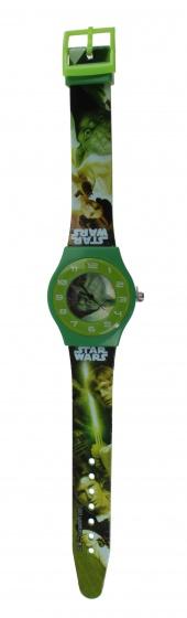 horloge Star Wars groen