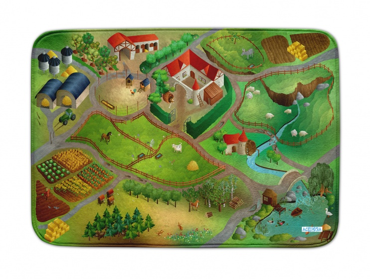 Speelkleed Farm us Connect 100 x 150 cm