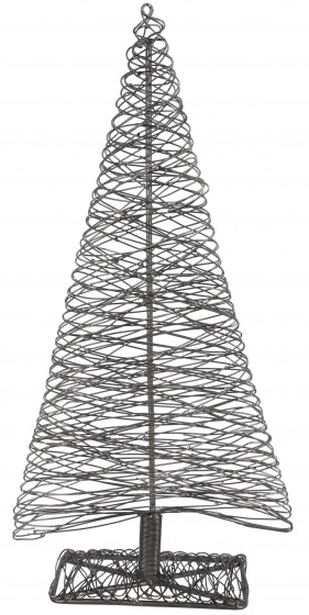 decoratieboom 23 x 9,5 x 48 cm staal zwart