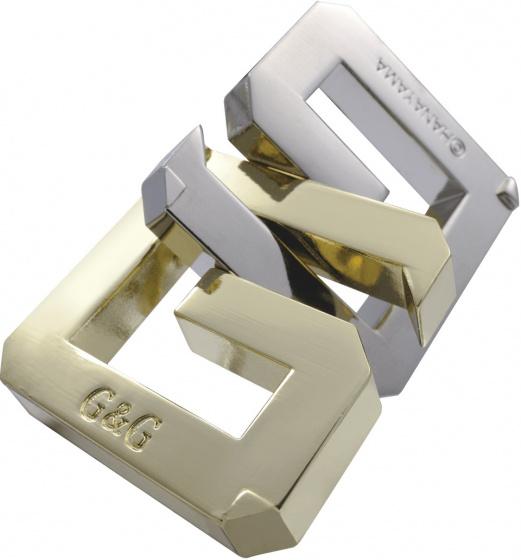 breinbreker Cast G&G 11,8 cm staal zilver/goud
