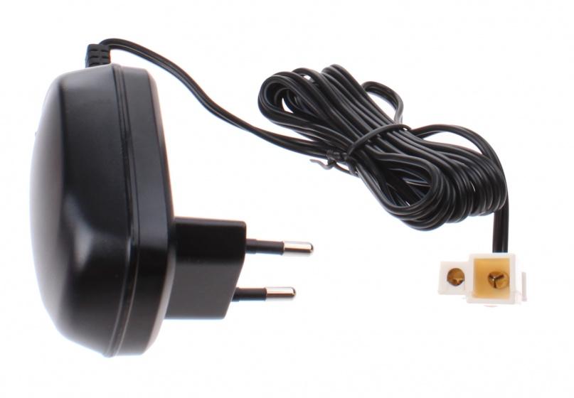 batterijlader CE 6V-0,6A zwart