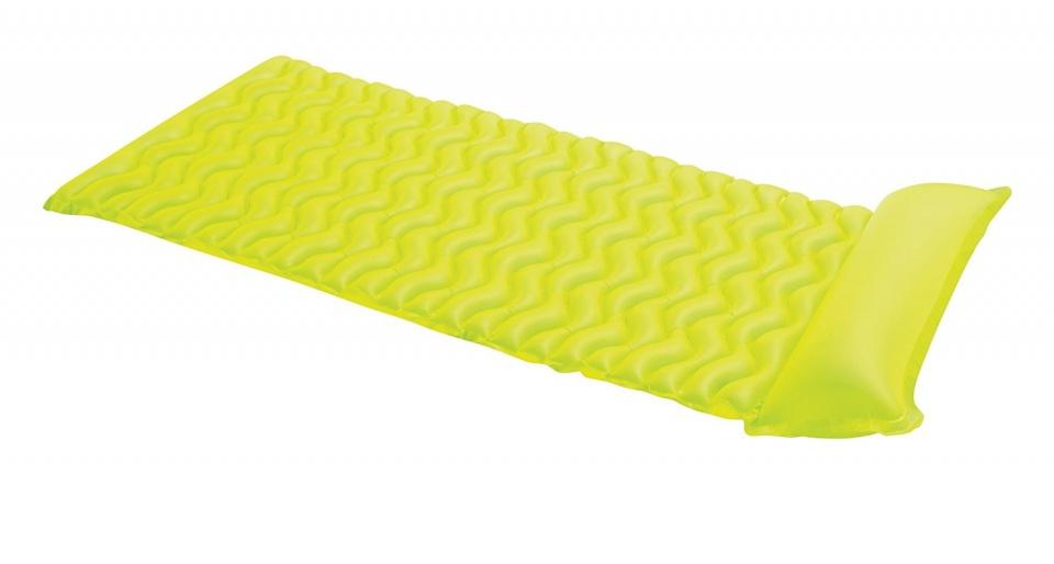 luchtbed Tote-N-Float 86 x 229 cm vinyl geel
