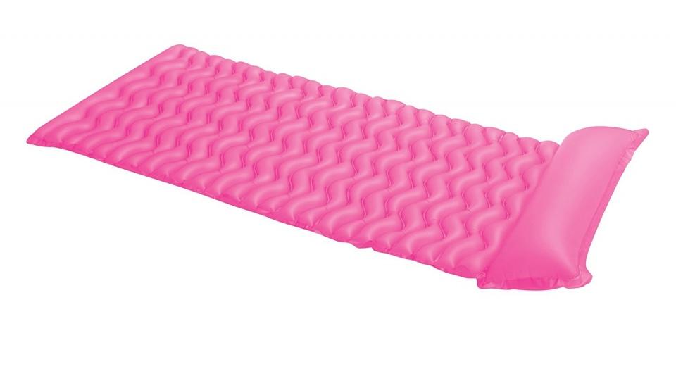 luchtbed Tote-N-Float 229 x 86 cm vinyl roze