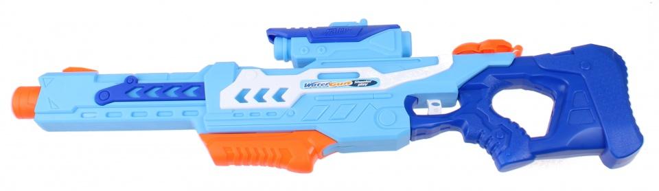 waterpistool Shooter Play 76 cm junior blauw